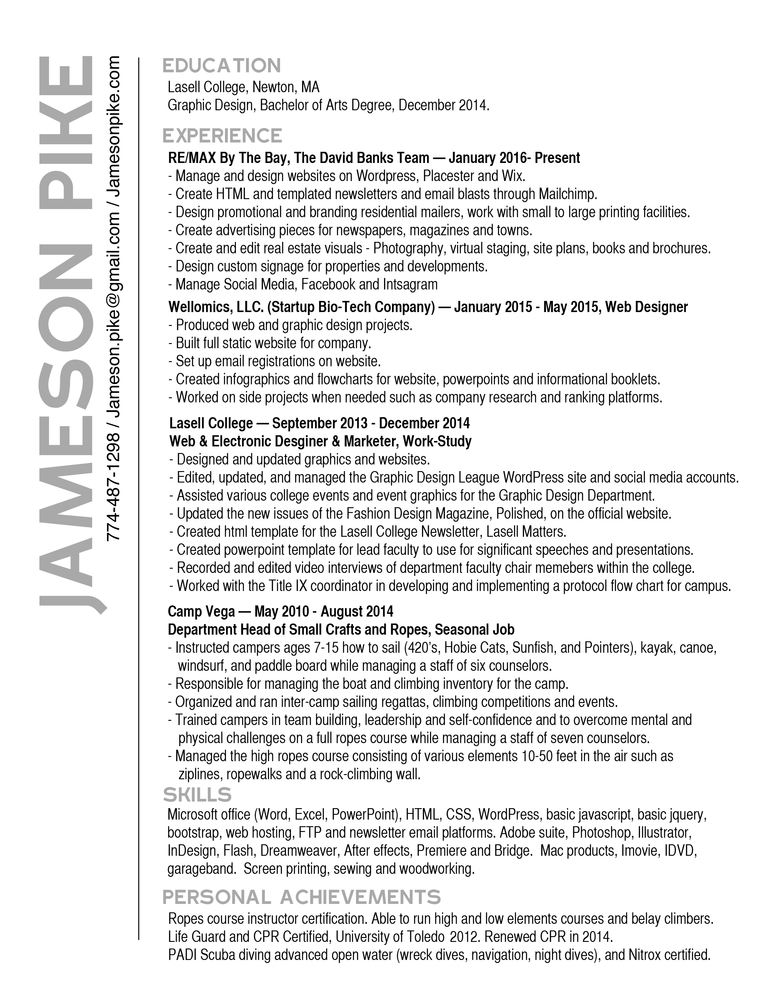 Stunning cpr certification resume images professional resume jameson pike 1betcityfo Choice Image